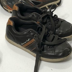 American Eagle Outfitters Shoes - Boys size 2 Lot of Slipon & Tennis Shoes